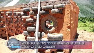 CASA DE LLANTAS. NOTA EN EL CANAL REGIONAL VIVORAL TV.