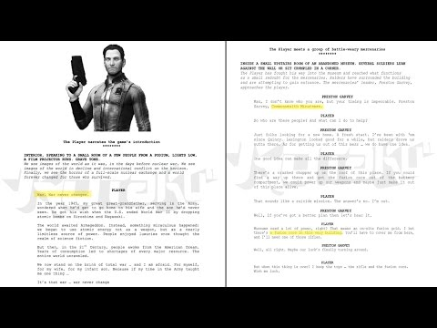 FALLOUT 4 Countdown - Leaked Kotaku Scripts (ft. Gopher) - Day 9