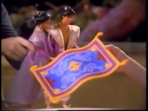 Aladin A Whole New World Playset Advert   From Mattel