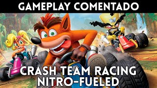 GAMEPLAY E3 2019 CRASH TEAM RACING NITRO-FUELED (PS4, Xbox One, Nintendo Switch)