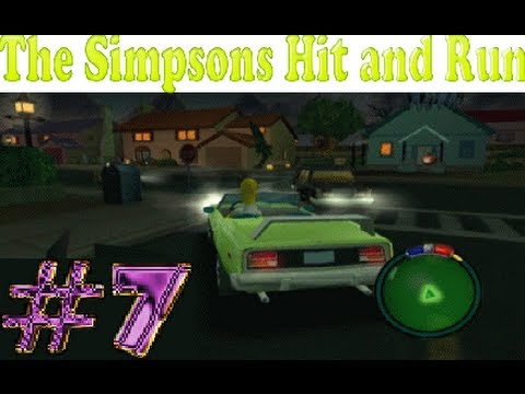 Let's Play the Simposns Hit and Run (PS2) - Level 7 - 100% (HD)
