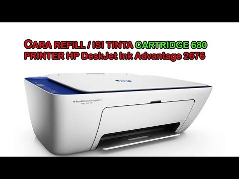 Cara Mudah Isi Ulang Tinta Printer HP GT Series & HP Ink Tank Series Dengan Tinta Printer AMAZiNK | .