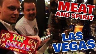 Meat, Spirits and TOP DOLLAR slot in Las Vegas | Vlog 28