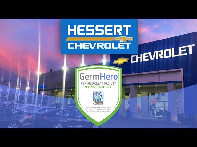 Hessert Chevrolet is Germ Hero Verified