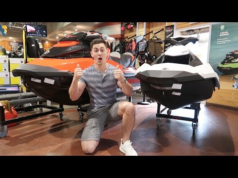 LOOK WHAT I GOT!! (2017 SEADOO JETSKI)