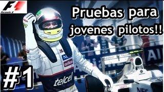Formula 1 2012 - Modo Trayectoria | Prueba para nuevos pilotos! [ Cap.#01]