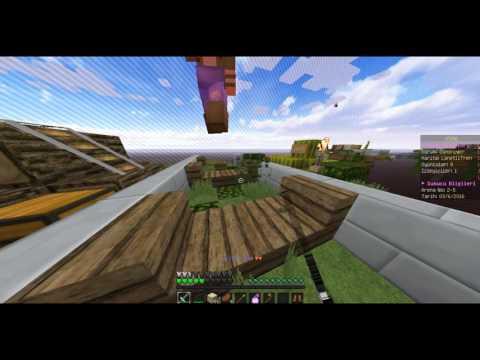 Minecraft Sky Wars 2.Bölüm / ADAM KESTİK AMA KAZANAMADIK :(