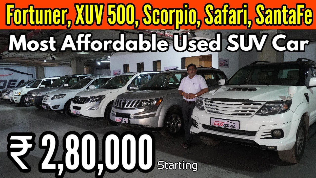 Most Affordable Ultimate SUV Car Starting only 2.80 lac| Fortuner,XUV500,Safari,Scorpio,Santafe| NTE