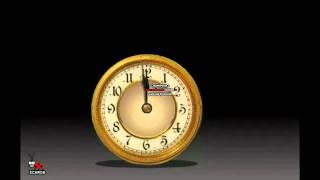 clock happy new year - 2012- Zaza.avi