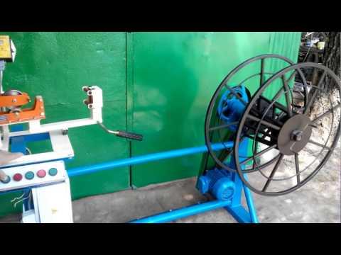видео: Перемоточный станок- для перемотки кабеля,провода своими руками 16 мм