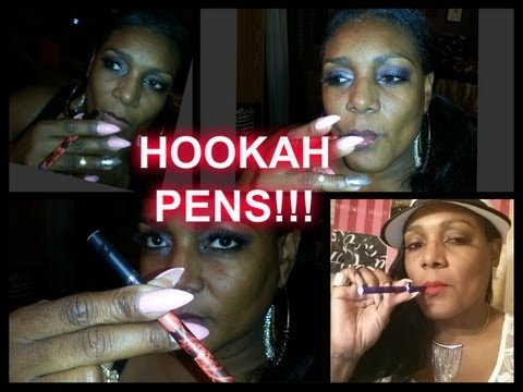 HOOKAH PENS (HOW TO USE)