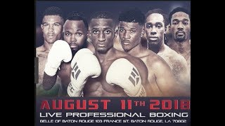 WFC 92 | Boxing August 11th,2018 Highlights
