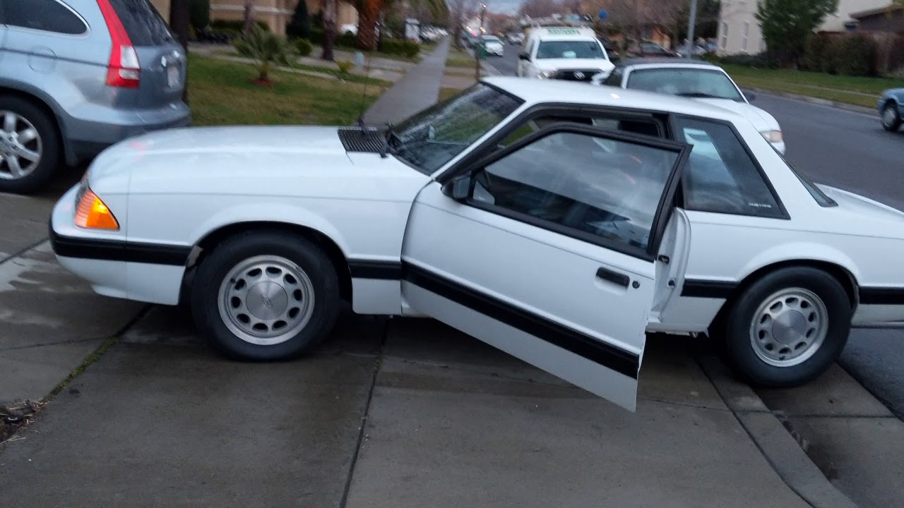 Foxbody Mustang how to Coyote swap autometer GPS speedometer and stock  gauges