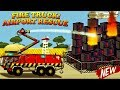 Garbage Truck Videos For Children l FIRE TRUCK Airport Rescue Emergency l Garbage Trucks Rule