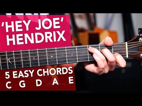 'hey-joe'-very-easy-acoustic-lesson-for-beginners---jimi-hendrix-made-easy
