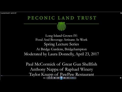 Long Island Grown at Peconic Land Trust's Bridge Gardens, April 23, 2017