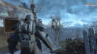Fallout 4. Выживание 021. Ищем Пропавший Патруль Братства Стали.