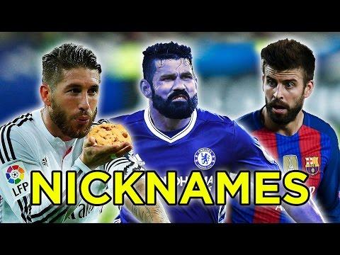 11 Best Football Nicknames Ft. Ramos & Costa