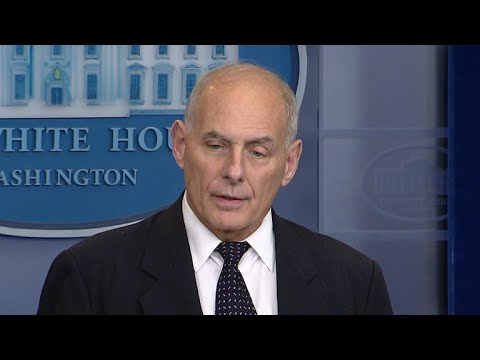 White House Chief of Staff John Kelly scolds congresswoman for listening to Trump phone call with…