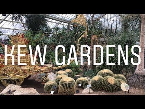 Trip to Kew Gardens (LONDON VLOG #2)
