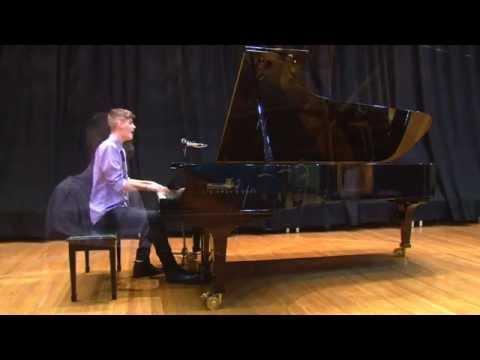 Summer Lights - Brandon Koolloos on Piano | Budding Virtuosity | Forte School of Music