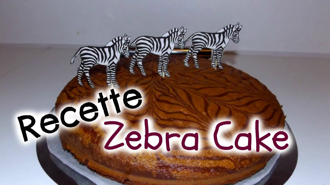 recette cake zebr i zebra cake recipe youtube. Black Bedroom Furniture Sets. Home Design Ideas