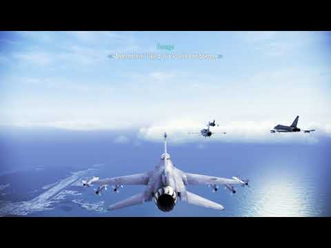 Great Migration | Mission 2 | Ace Combat Infinity [1080p 60fps]
