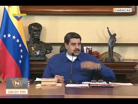 """¿Nicolás Maduro dijo que había """"5 puntos cardinales""""? Este es el video verdadero"""