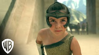 Wonder Woman 1984 | Young Diana Takes on The Amazon Games | Warner Bros. Entertainment