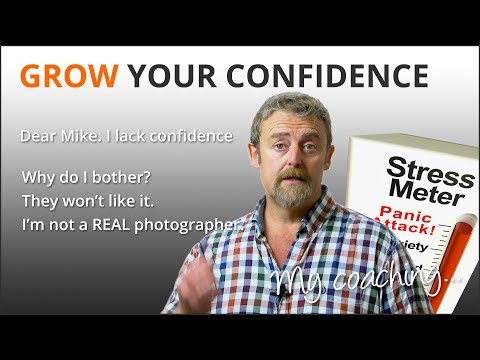 Video: Inspirational Words on Having Confidence as a Photographer
