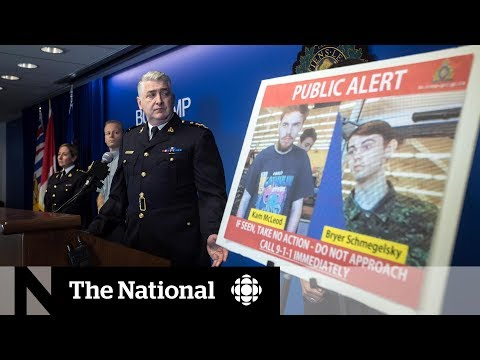 Police Strategy: How 3 Killings In B.C. Turned Into A Cross-Canada Pursuit