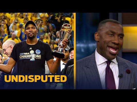 Kevin Durant will not visit the White House with the Warriors - Shannon Sharpe reacts | UNDISPUTED