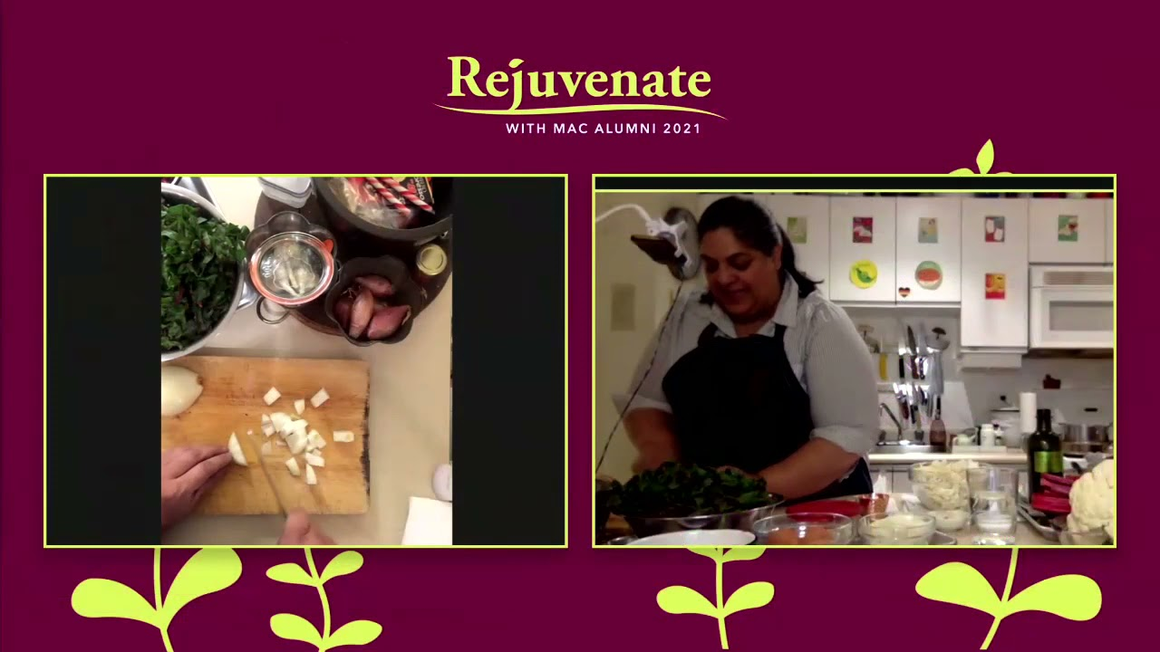 Image for Cook-Along with Joshna Maharaj '00: Delicious and Nutritious! webinar