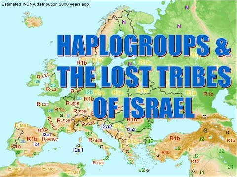 Haplogroups & the lost Tribes of Israel.avi