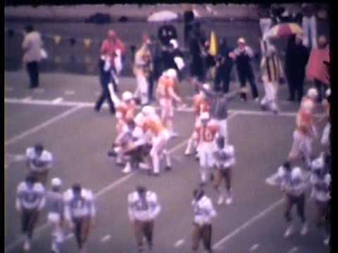 Vanderbilt Football 1974 Game 11 Tennessee Part 1 of 4.mpg