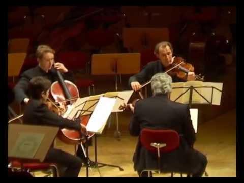 Pinchas Zukerman and WDR Soloists play Schubert Quintet in C, D.956; Op.163 - 1st Mvt
