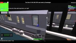 ROBLOX - My MTA Style Subway System [12/29/2013]