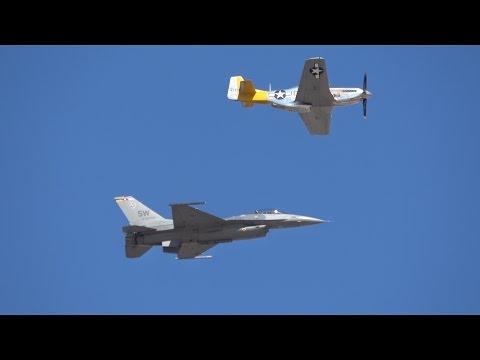 F-16 Viper Saturday Demo .. California Capital Airshow 2016 (4K)