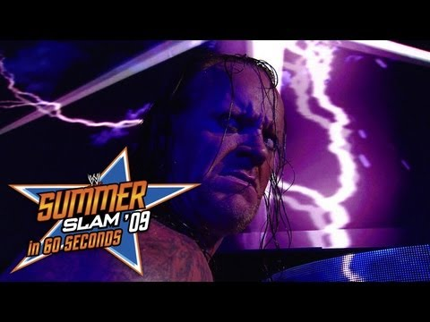 SummerSlam in 60 Seconds: SummerSlam 2009