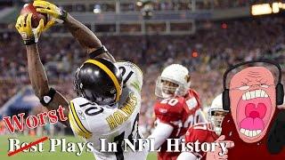 Santonio Holmes Game-Winning Super Bowl TD Catch | Money Smith