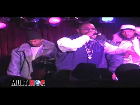 MULTIHOP.TV - KOOL G RAP Performs Classic Songs LIVE @ BB KINGS (2001)