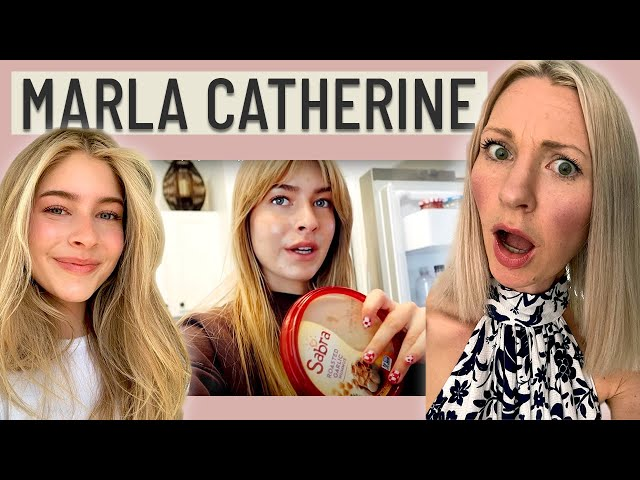 Dietitian Reviews Marla Catherine What I Eat in a Day (This is just not enough...)