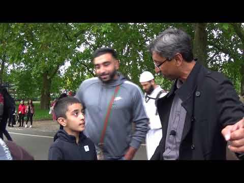 Shabir greets Mohammed Hijab and ATR's  youngest subscriber.