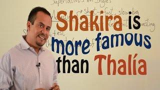 Aprende a Usar Comparativos en Inglés