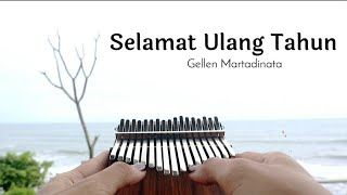 SELAMAT ULANG TAHUN - Gellen Martadinata (Kalimba Cover with Tabs)