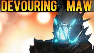 "Destiny - How To Get The ""Devouring Maw"" Warlock Strike Specific Helmet - ""Devouring Maw"" Review"