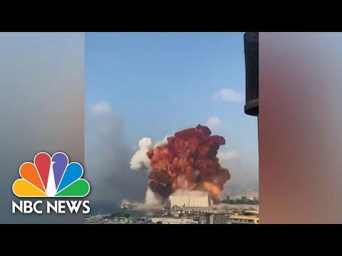 Massive Explosion In Lebanon Kills Dozens, Injures Thousands | NBC Nightly News