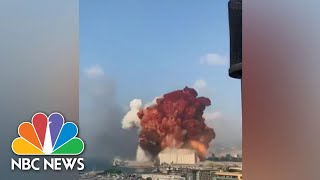 Massive Explosion In Lebanon Kills Dozens, Injures Thousands | NBC Nightly News