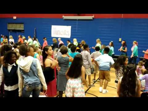 Smyrna primary teachers dance moves May 2017