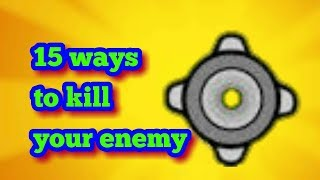 15 ways to kill others using bombs in Catacombs (Mini militia)